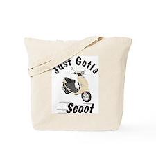 Just Gotta Scoot Cream Buddy Tote Bag