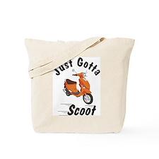 Just Gotta Scoot Orange Buddy Tote Bag