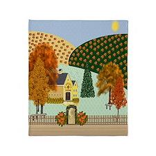 Pumpkin Hollow Throw Blanket
