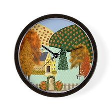 Pumpkin Hollow Wall Clock