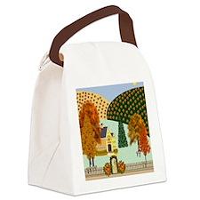 Pumpkin Hollow Canvas Lunch Bag