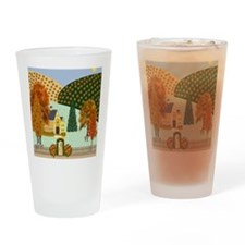 Pumpkin Hollow Drinking Glass