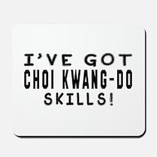 Choi Kwang Do Skills Designs Mousepad