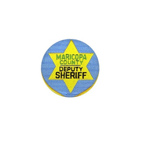 Maricopa County Sheriff Mini Button (10 pack)