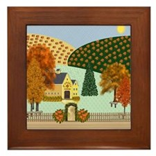 Pumpkin Hollow Framed Tile