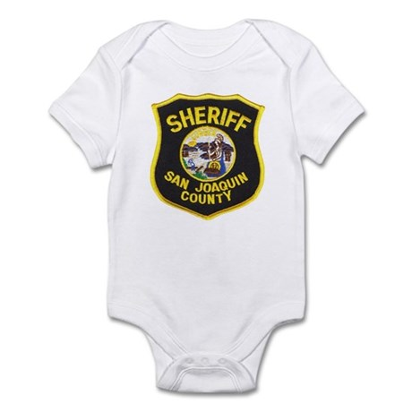 San Joaquin Sheriff Infant Bodysuit