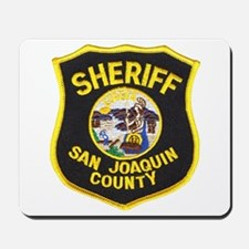 San Joaquin Sheriff Mousepad