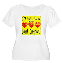 Get Well Soon Josh Beat Cance T-Shirt
