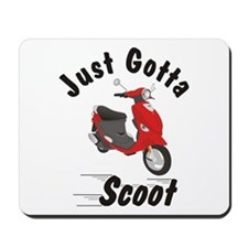 Just Gotta Scoot Red Buddy Mousepad