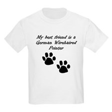 My Best Friend Is A German Wirehaired Pointer T-Sh