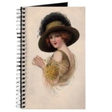 Gibson Girl Blank Card Journal