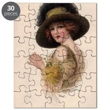 Gibson Girl Blank Card Puzzle