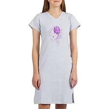 Purple Woman Women's Nightshirt