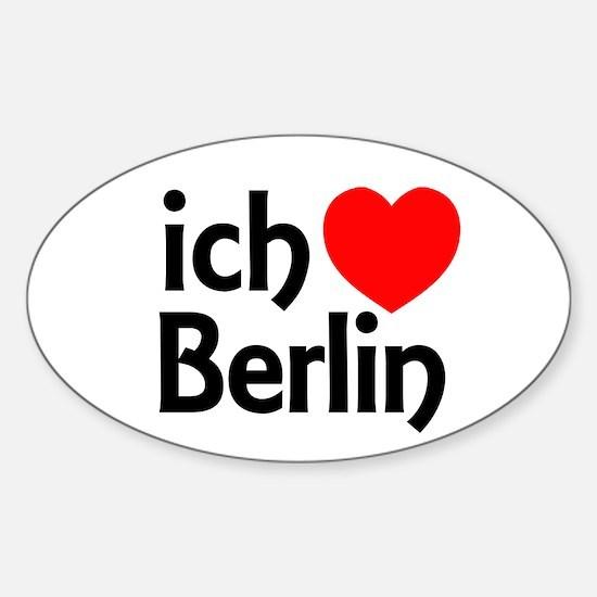 Berlin Sticker (Oval)