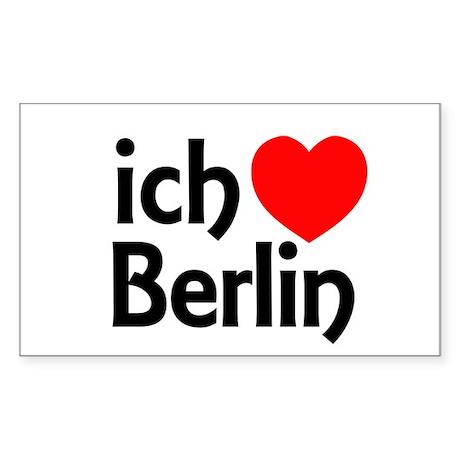 Berlin Sticker (Rectangular)
