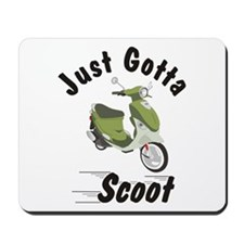 Just Gotta Scoot Italia Buddy Mousepad
