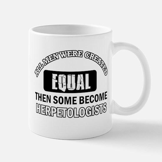 Herpetologists Designs Mug