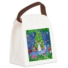 Clara  The Tree Canvas Lunch Bag