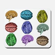 C Brain Mousepad
