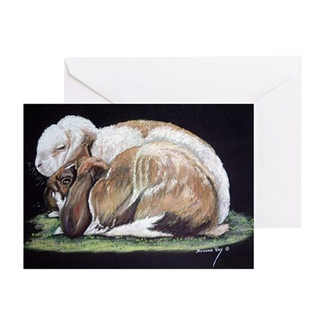 Dudley & Emma Greeting Cards blank inside 10 p