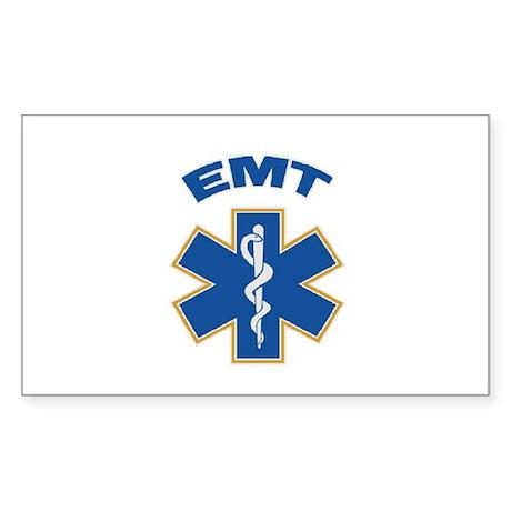 Emergency Medical Technician Rectangle Sticker