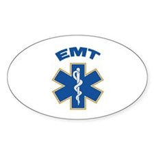 Emergency Medical Technician Oval Bumper Stickers