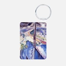 Delaunay - The Spire of No Aluminum Photo Keychain