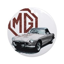 Mg Midget Round Ornament