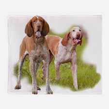 Bracco Italiano Throw Blanket