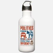 Political Insanity Water Bottle