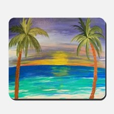 Tropical Sunset Mousepad