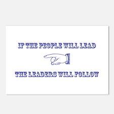 People Lead Postcards (Package of 8)