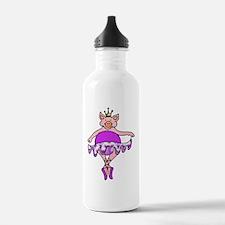 Plump Dancing Pig in P Water Bottle