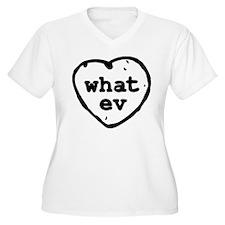 What Ev Plus Size T-Shirt