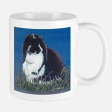 French Lop Bunny rabbit Mug, right side art