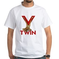 V Twin motorcycle red Shirt