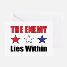 The Enemy Greeting Cards (Pk of 10)