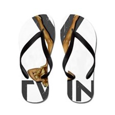 V Twin motorcycle Flip Flops