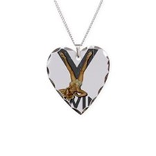 V Twin motorcycle Necklace