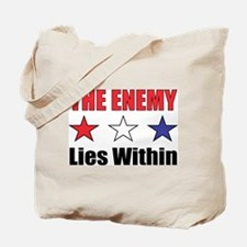 The Enemy Tote Bag