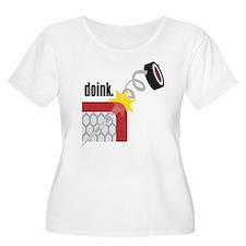hockey17 Plus Size T-Shirt