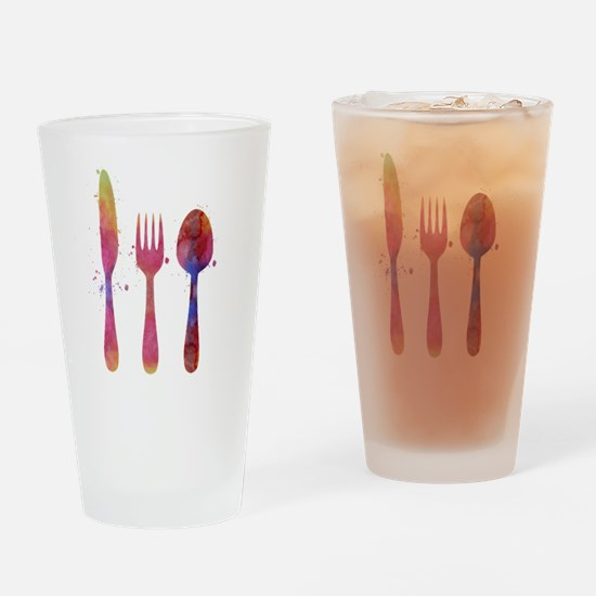 Cute Multi colors Drinking Glass