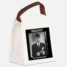 WWJDD Canvas Lunch Bag