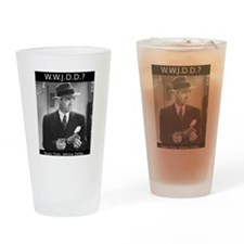 WWJDD Drinking Glass