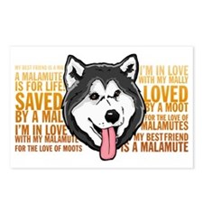 Love a Malamute Postcards (Package of 8)