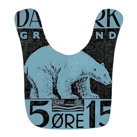 2001 Greenland Polar Bear Postage Stamp Bib