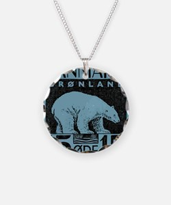 2001 Greenland Polar Bear Po Necklace