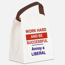 WORK HARD AND BE SUCCESSFUL ANNOY Canvas Lunch Bag
