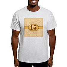 15th Birthday / Anniversary T-Shirt