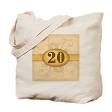 20th Birthday / Anniversary Tote Bag